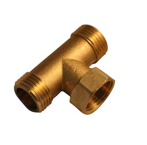 15mm Brass T-Piece Steam Shower Cabins