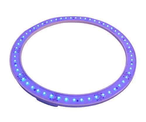 Ceiling Light Led Ring : Led ceiling light ring blue shower spares parts