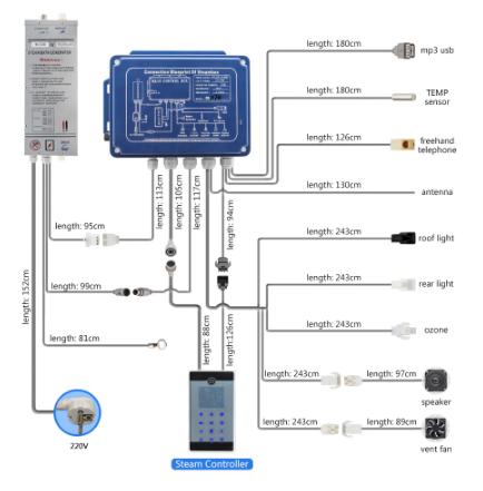 MK117 Electronics Dimensions