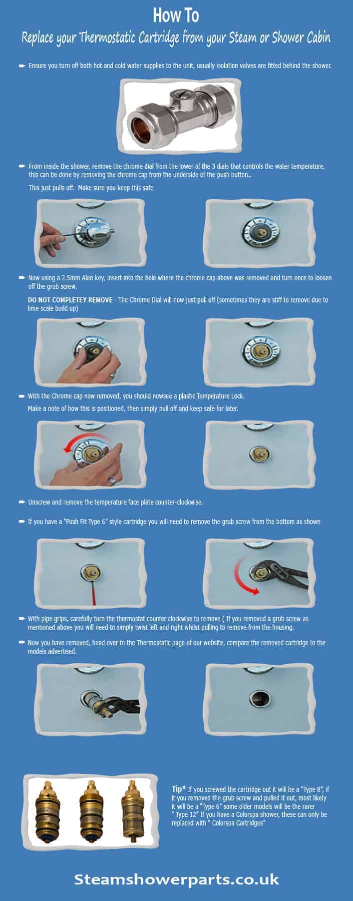 How to Replace a Thermostatic Cartridge Instructions