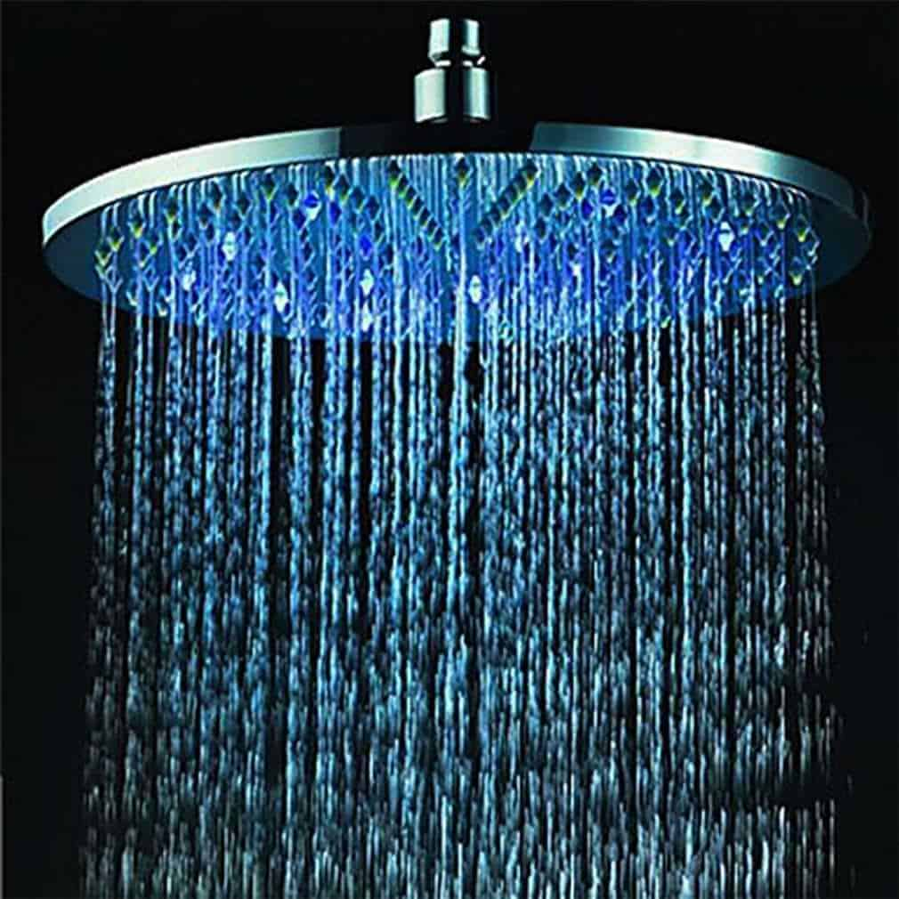 AQURE 7 Colours Changing LED Shower Head