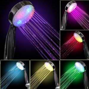 LED Color Shower Heads