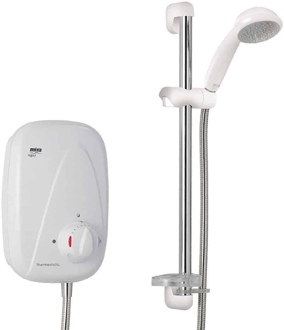 Mira 1.1532.354 Vigour Chrome Plated Manual Power Shower