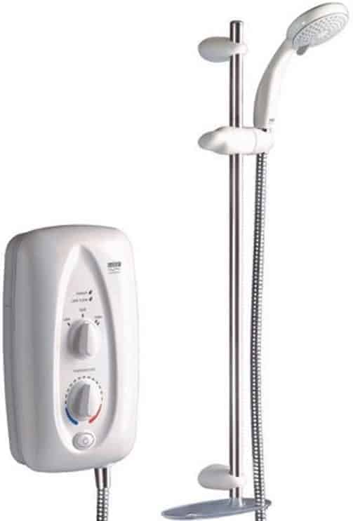 Mira Sprint 8.5kW White Chrome Electric Power Shower