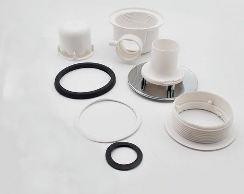 Large waste for steam and shower components