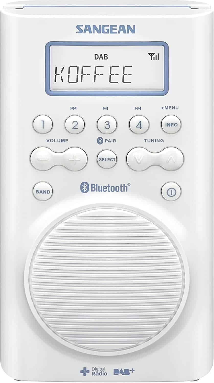 Sangean H 205D BT Waterproof Shower Radio
