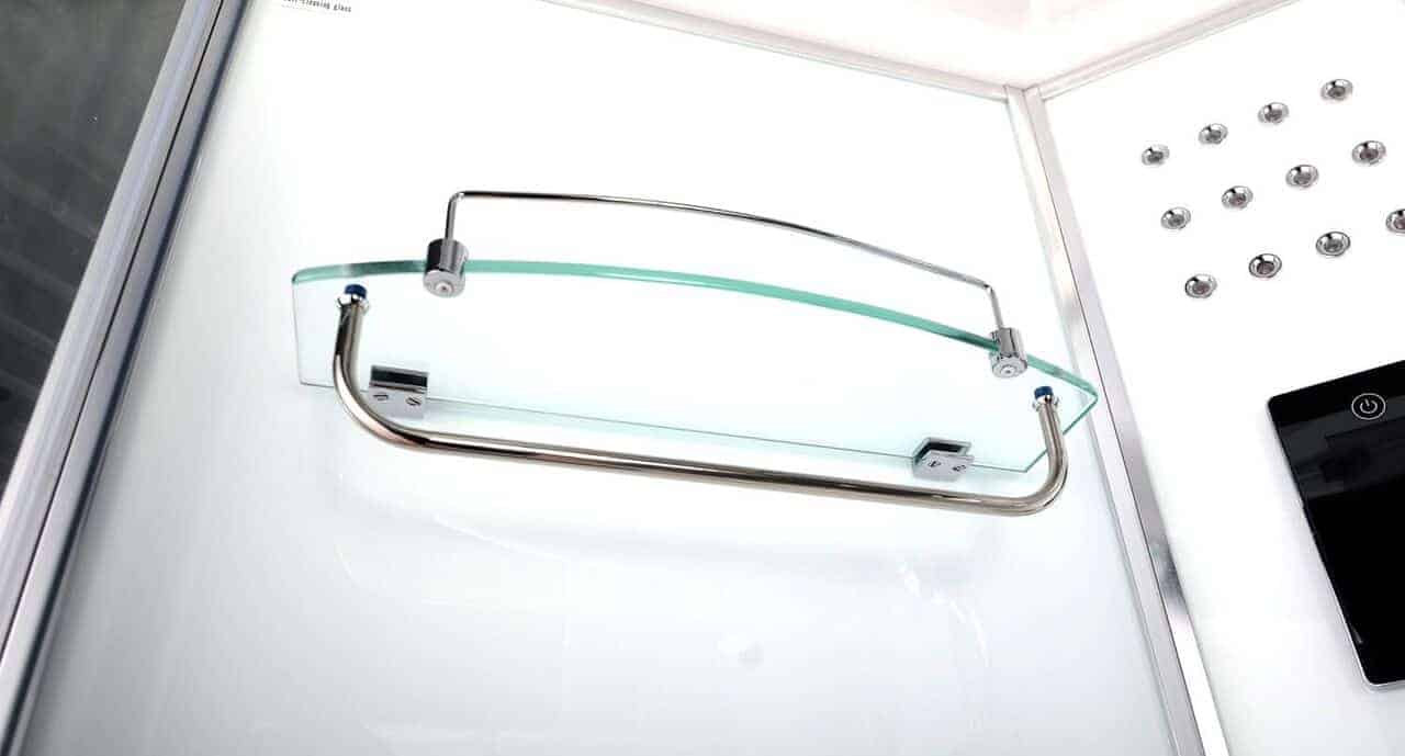 Glass Shelf With Towel Rail Shower Parts Amp Spares