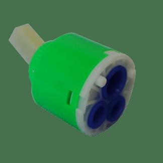 40mm Diverter Cartridge Tap (Green)