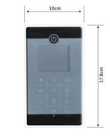 MK117 Bluetooth Control Panel