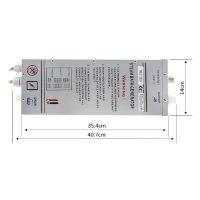 MK117 B slimline steam generator product schematics