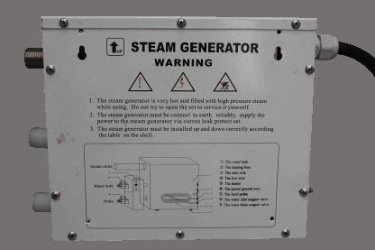 Aqualux stoom generator