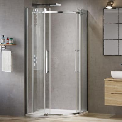 Best Curved Shower Enclosure - Soak