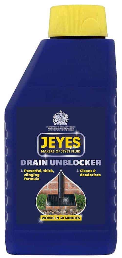 Best Drain Unblocker for Outside Drains – Jeyes