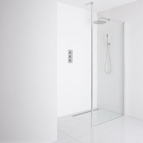 Recessed Wet Room Shower Enclosure – Milano