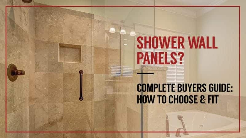 shower wall panels complete buyers guide how to choose. Black Bedroom Furniture Sets. Home Design Ideas