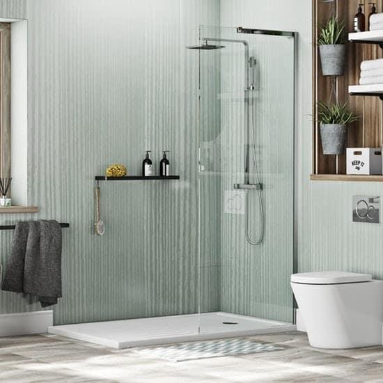 Walk-in Shower Enclosure Pack – Victoria Plum