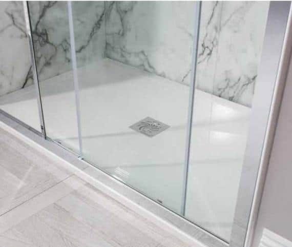 Best Low-Profile Shower Tray - Simpsons