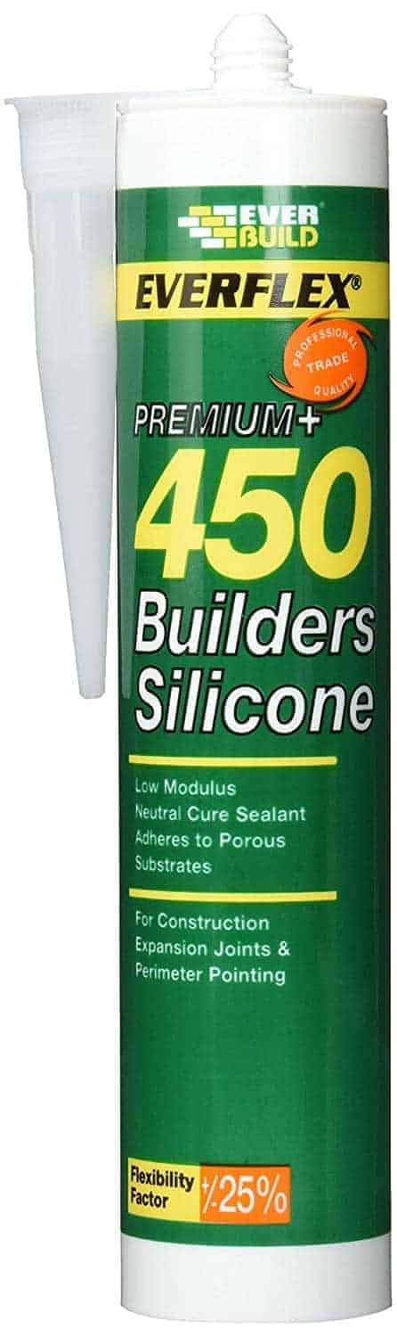 EverBuild Clear Silicone Sealant