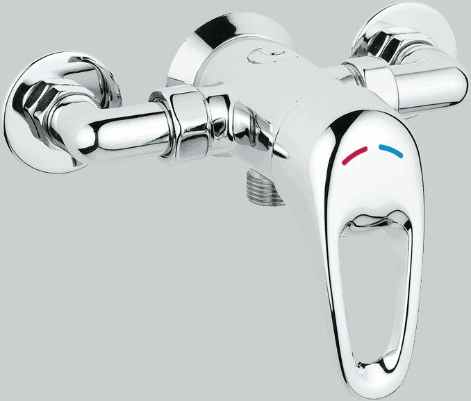 Manual Mixer Showers