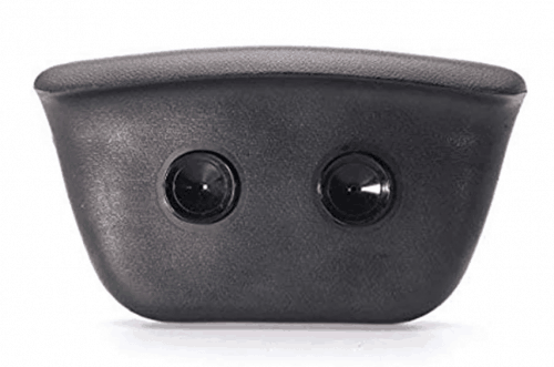 Bath headrest with Suction Rear View