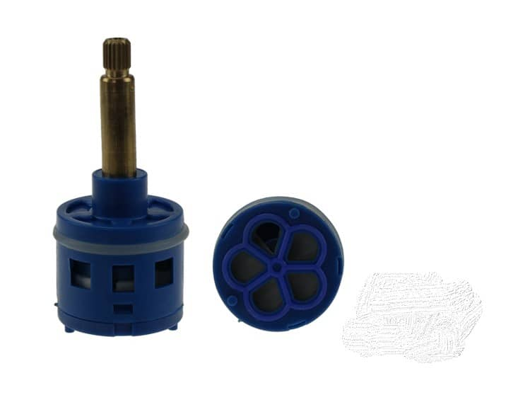 36.5mm Diverter Core- 5 Outputs Blue- Replacement Shower Tap/Core