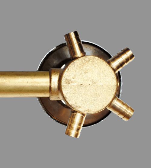 2 Dial dusj Mixer ventil 100mm sentre: 2, 3, 4 & 5 utganger