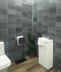 Executive Grey Tile Effect