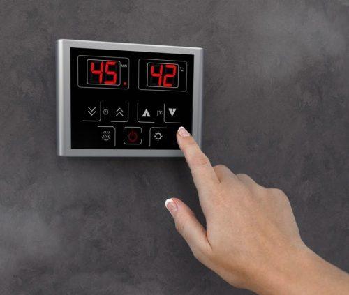 Steam Room Kit Control Panel