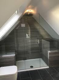 unique looking shower room