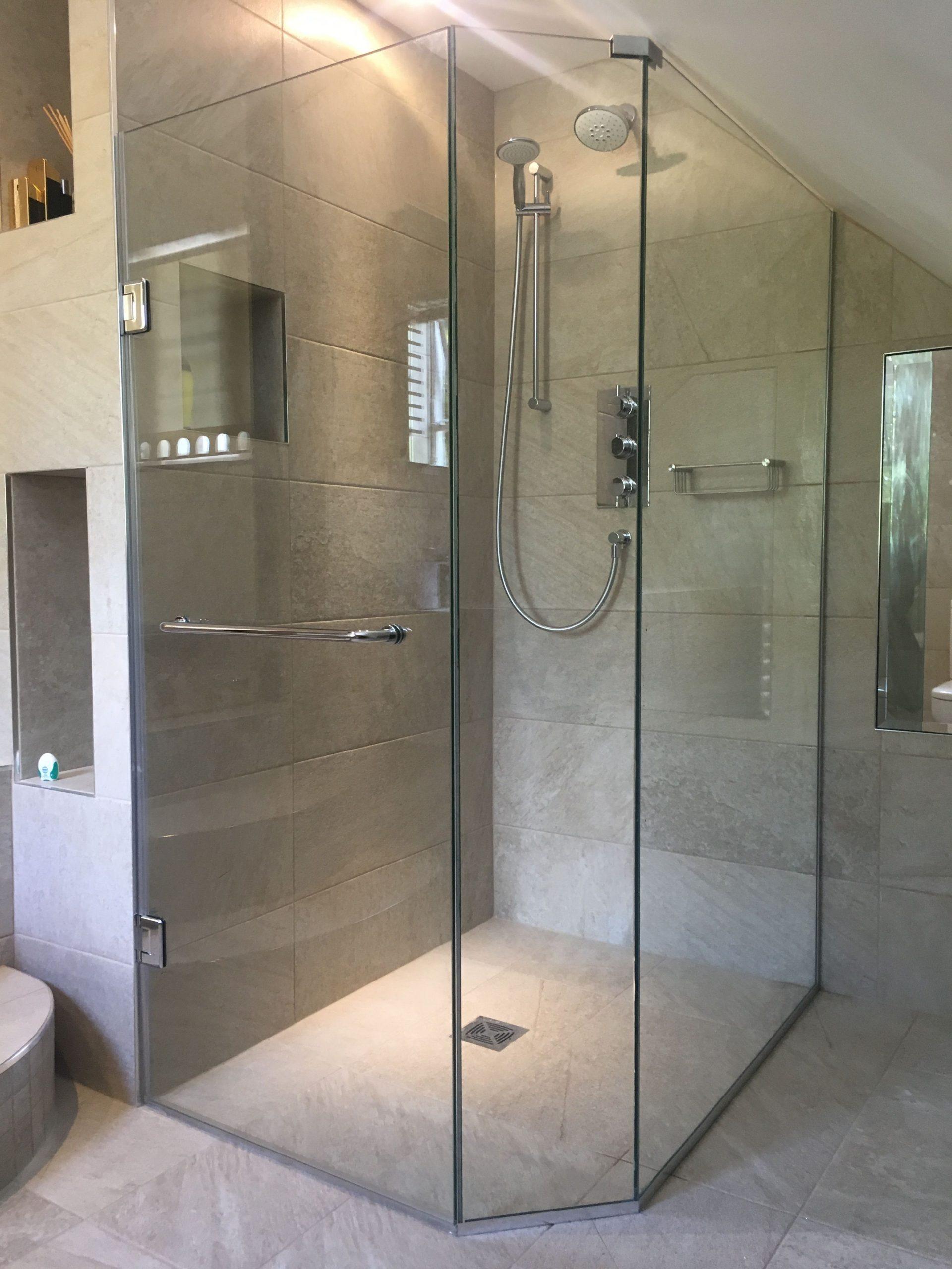 wet shower room