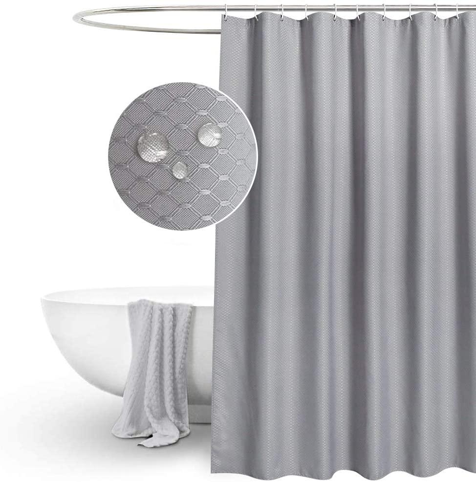 Eurcross rey waffle shower curtains extra long